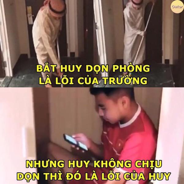 Ảnh chế cực 'lầy lội' của các chàng tuyển thủ Việt theo triết lý tình yêu của Miss Hương Giang khiến dân mạng cười nghiêng ngả-9