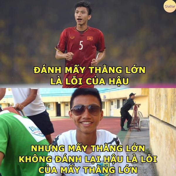 Ảnh chế cực 'lầy lội' của các chàng tuyển thủ Việt theo triết lý tình yêu của Miss Hương Giang khiến dân mạng cười nghiêng ngả-11