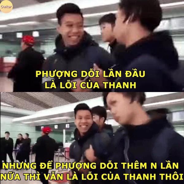 Ảnh chế cực 'lầy lội' của các chàng tuyển thủ Việt theo triết lý tình yêu của Miss Hương Giang khiến dân mạng cười nghiêng ngả-14