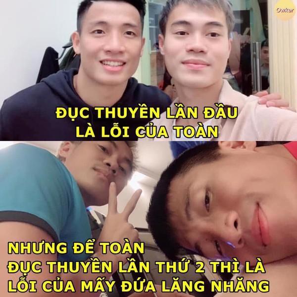 Ảnh chế cực 'lầy lội' của các chàng tuyển thủ Việt theo triết lý tình yêu của Miss Hương Giang khiến dân mạng cười nghiêng ngả-15