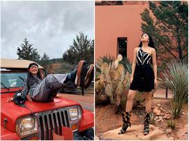 Châu Bùi trở thành gương mặt Việt duy nhất tham dự show ra mắt BST xuân hè của H&M mà fan cứ ngỡ cô làm travel blogger