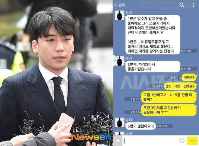 Lộ tin nhắn Seungri môi giới mại dâm: 10 triệu won một cô nhé!-1