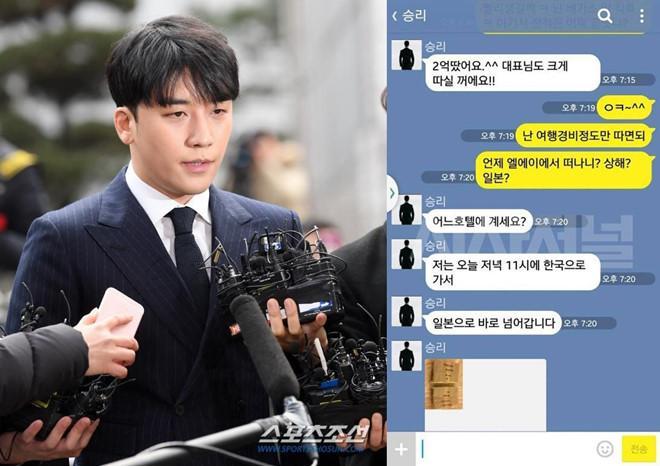 Lộ tin nhắn Seungri môi giới mại dâm: 10 triệu won một cô nhé!-2