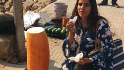 Loại củ kỳ lạ to như khúc gỗ được bán ngập tràn và cực 'đắt hàng' trên đường phố Ấn Độ
