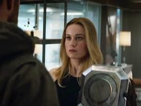 Thor gặp Captain Marvel trong trailer mới 'Avengers: Endgame'