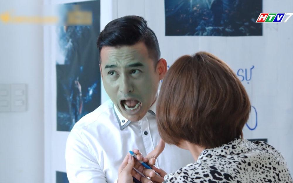 Đánh gãy tay chồng, Thúy Diễm xứng danh bà vợ dữ dằn nhất màn ảnh Việt 2019-5