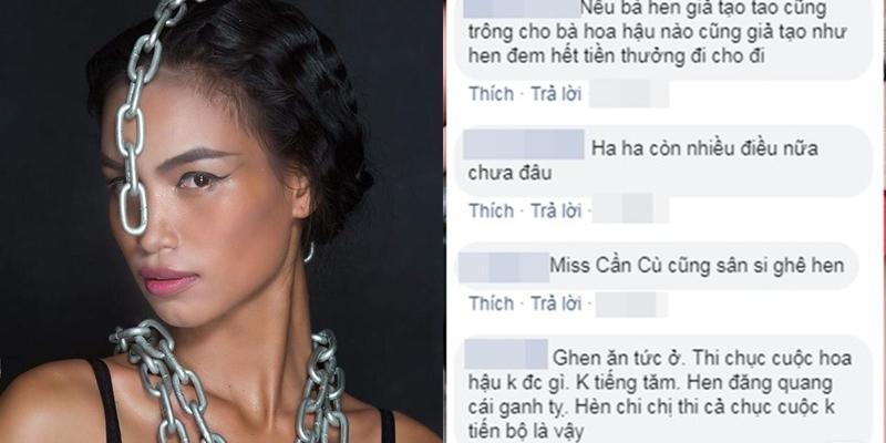 Mỹ nhân 8 lần thi nhan sắc HĂng Niê đá xéo Hoa hậu HHen Niê chỉ biết cười giả trên nỗi đau thật của người nghèo-3