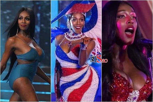 Đăng quang Hoa hậu Chuyển giới 2019, bom sex nước Mỹ trở nên kín đáo lạ thường nhưng vòng 1 vẫn không ngừng gây ngộp thở-4