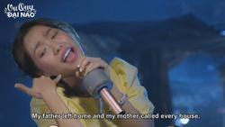 Diệu Nhi khoe giọng hát thảm họa với hit của Đen Vâu