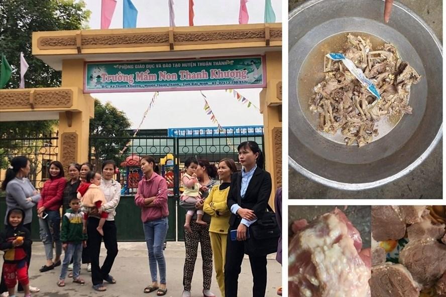 Trường mầm non bị tố dùng thịt lợn bẩn: Thêm 44 trẻ bị nhiễm sán lợn-1