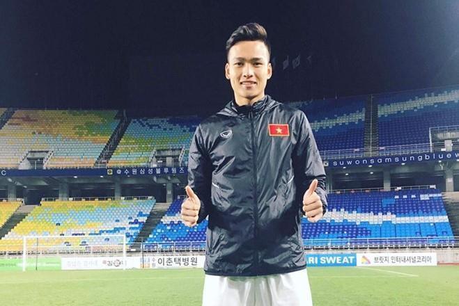 Chàng hậu vệ tranh vị trí em út điển trai của Văn Hậu tại U23-1
