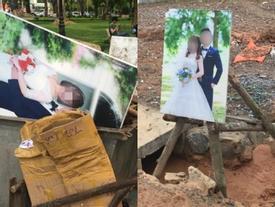 Cặp đôi chi chục triệu để chụp ảnh cưới, lúc hết duyên thì mọi thứ ra nông nỗi này, dân mạng ngao ngán lắc đầu