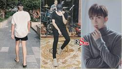 Hoa hậu cũng phải 'phát hờn' khi ngắm đôi chân thon dài cực phẩm của Soobin Hoàng Sơn