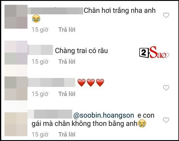 Hoa hậu cũng phải phát hờn khi ngắm đôi chân thon dài cực phẩm của Soobin Hoàng Sơn-6