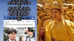 Nam phụ phim 'Trạng Quỳnh' nói về scandal Seungri Big Bang: 'Đen thì bị khui thôi chứ quay clip sex là chuyện thường'