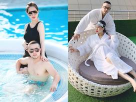 Mang thai quý tử, chị dâu ca sĩ Bảo Thy nhận được nhiều 'ân sủng' từ ông xã Bảo Trần