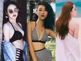 3 hot girl 'đốt' mắt người xem khi diện bikini dù sở hữu vòng 1 khiêm tốn