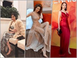 Hồ Ngọc Hà chỉ cần một chiếc váy nude đã đủ áp đảo cả một dàn hoa hậu trên bảng xếp hạng SAO ĐẸP