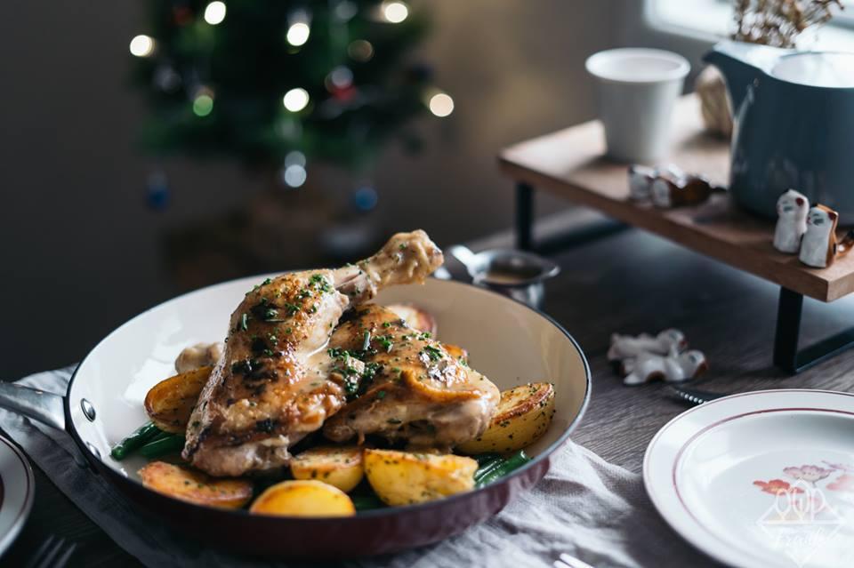 Tuyệt chiêu siêu đơn giản cho món đùi gà đút lò đậm đà, thơm lừng khắp ngõ-3