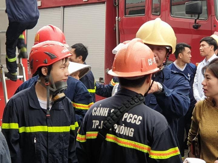 Cháy khách sạn ở Hải Phòng: Nữ nhân viên tử vong là người báo tin-5