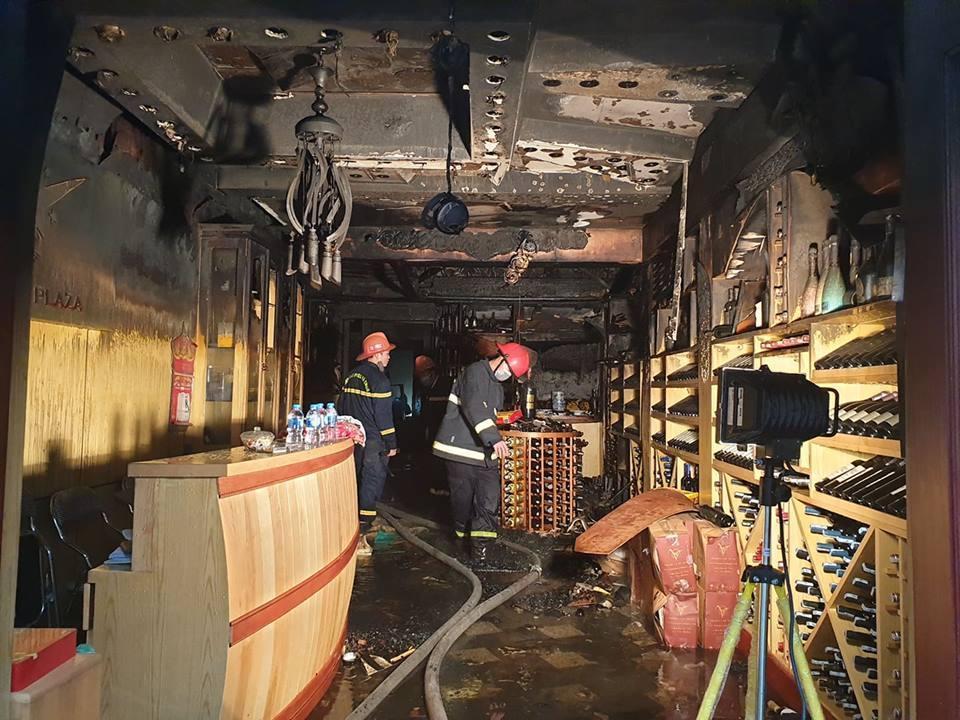 Cháy khách sạn ở Hải Phòng: Nữ nhân viên tử vong là người báo tin-9