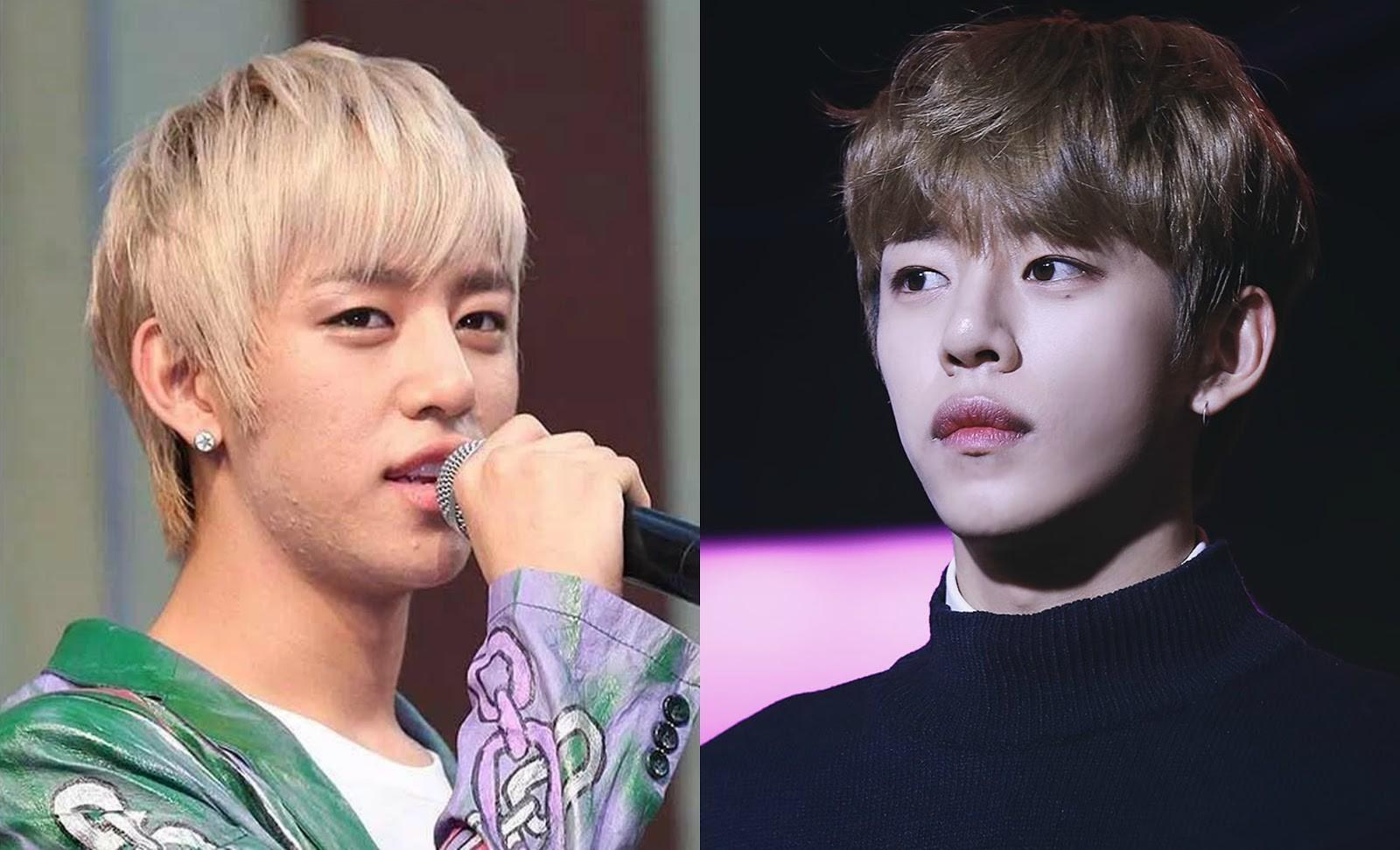 Daehyun có lẽ là thuộc top các idol khổ nhất vì mụn. Bị chi chít mụn ẩn nhưng để giữ hình ảnh, anh chàng vẫn phải makeup dày để che đi.