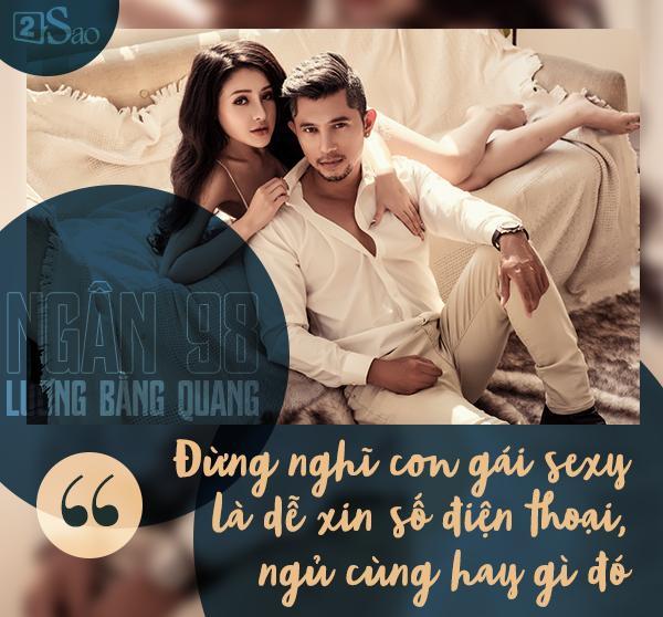 Lương Bằng Quang LẦN ĐẦU KỂ THẬT về Ngân 98: Người yêu tôi sexy nhưng rất khó đụng, đừng tưởng dễ ngủ cùng-2