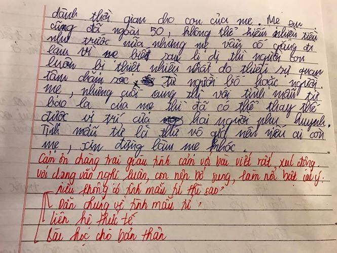 Những yêu thương nguệch ngoạc gửi mẹ đơn thân của nhóc tì nhà Vân Hugo - MC Thảo Vân khiến ai đọc xong cũng nghẹn đắng-5