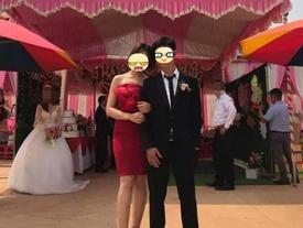 Tranh cãi gay gắt khoảnh khắc chú rể tình tứ chụp ảnh cùng người yêu cũ, bỏ lại cô dâu bơ vơ đứng phía sau