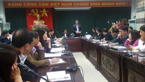 Họp báo sán lợn ở Bắc Ninh: Không có chuyện lãnh đạo can thiệp nhập thực phẩm-1