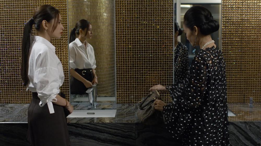 Chi Pu thót tim vì bị mẹ kế bắt gặp đang hẹn hò với Bình An trong tập 32 Mối Tình Đầu Của Tôi-2