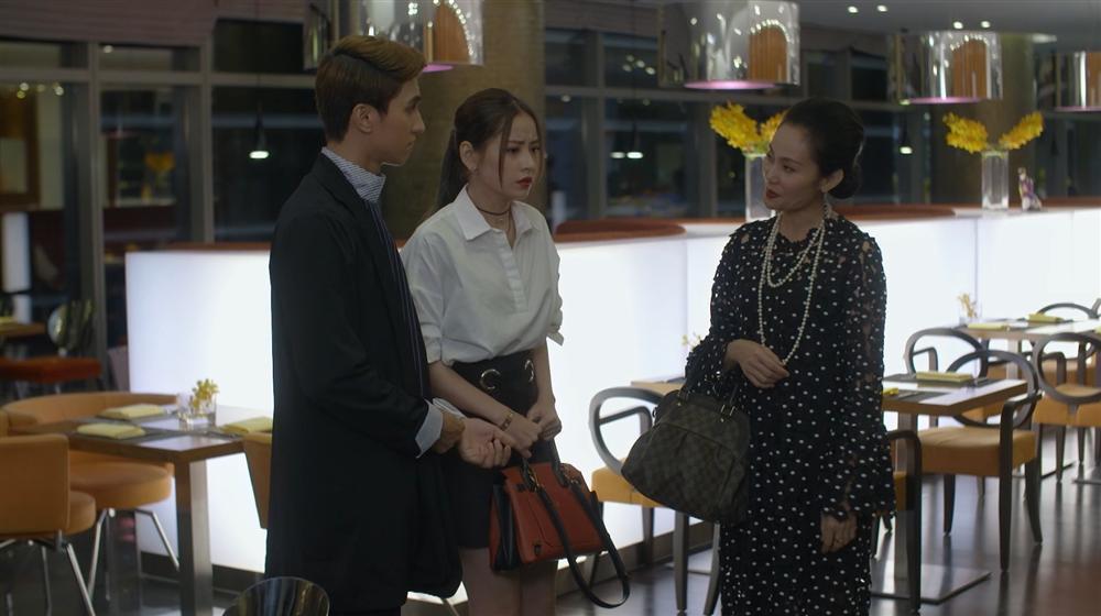 Chi Pu thót tim vì bị mẹ kế bắt gặp đang hẹn hò với Bình An trong tập 32 Mối Tình Đầu Của Tôi-4