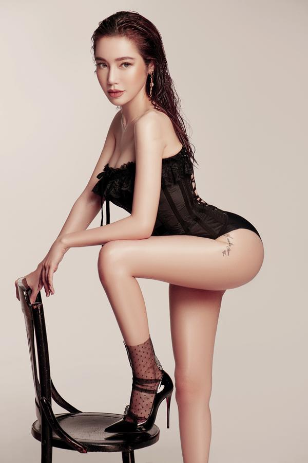 Elly Trần eo 56 cm dù đã là gái hai con-4