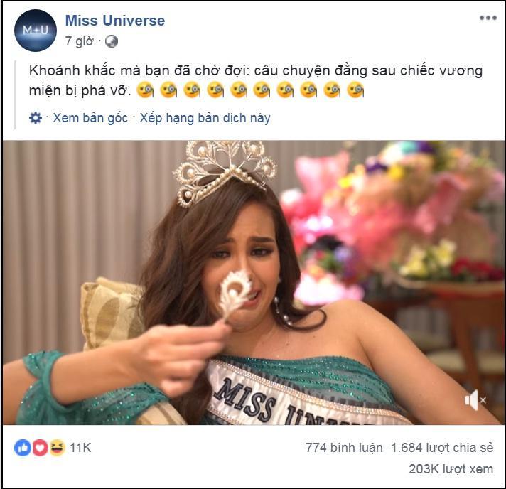 Chỉ vì nhảy quá sung, Hoa hậu Hoàn vũ Catriona Gray làm vỡ toang tuyệt phẩm vương miện Mikimoto 6 tỷ đồng-1