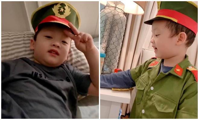 Mới tròn 3 tuổi nhưng có ai ngờ con trai Ly Kute đã cao lớn phổng phao còn đáng yêu không tưởng-6