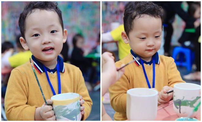 Mới tròn 3 tuổi nhưng có ai ngờ con trai Ly Kute đã cao lớn phổng phao còn đáng yêu không tưởng-11