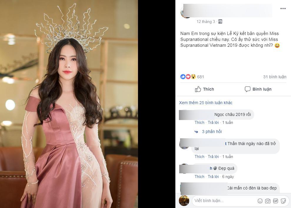Rộ tin Nam Em đang tâm lý bất thường vẫn đi thi Hoa hậu Hoàn vũ, người hâm mộ kẻ mừng người lo-4
