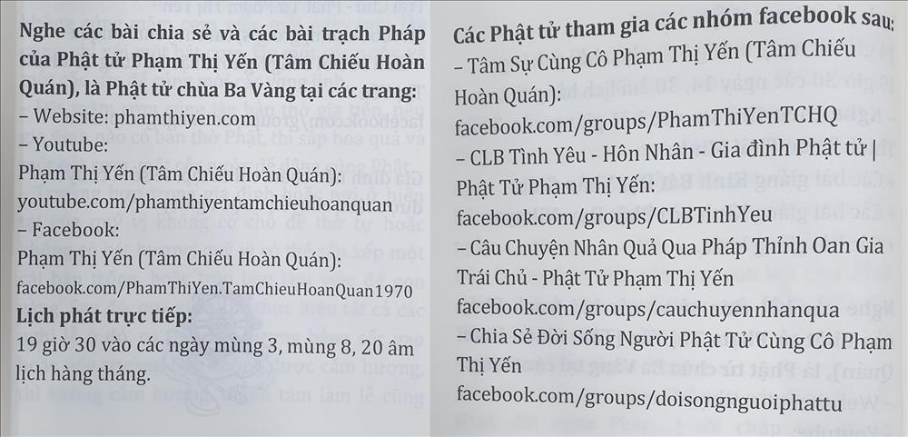 Gọi vong ở Ba Vàng: Bà Phạm Thị Yến là ai?-2