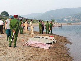 Kinh hoàng: 8 học sinh chết đuối thương tâm trên sông Đà