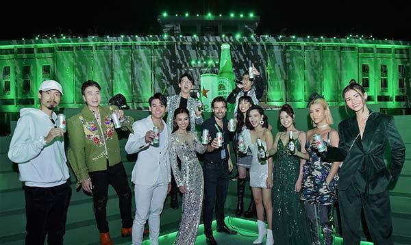 Bia mới Heineken Silver 'đốn tim' Quang Bảo, Châu Bùi-1