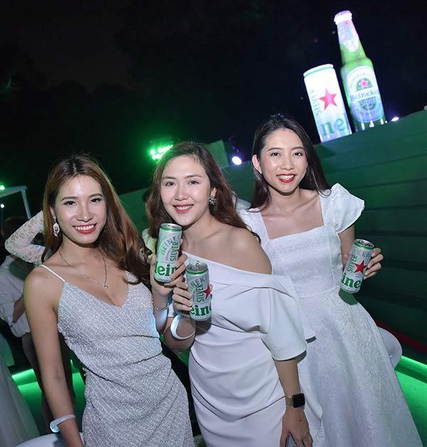 Bia mới Heineken Silver 'đốn tim' Quang Bảo, Châu Bùi-2