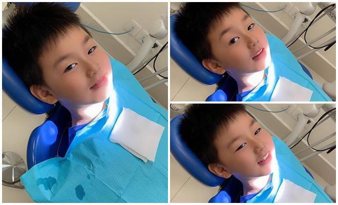 Mới 7 tuổi thôi nhưng con trai nữ diễn viên Gạo nếp gạo tẻ khiến nhiều người bất ngờ với ngoại hình đúng chuẩn trai Hàn-8