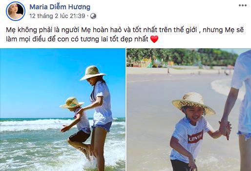 Hoa hậu Diễm Hương lần đầu lên tiếng trước thông tin ly hôn người chồng thứ hai-1
