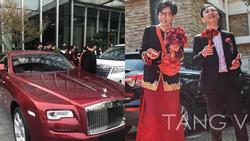 Cô dâu - chú rể số hưởng: Vừa được thiếu gia đình đám đích thân làm phù rể lại nhận quà cưới là siêu xe Rolls-Royce