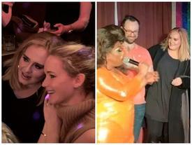 Adele và Jennifer Lawrence 'ẩu đả' tại quán bar dành cho người đồng tính