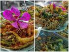 Hoa giấy, mẫu đơn chiên giòn - món ngon lạ miệng của Thái Lan