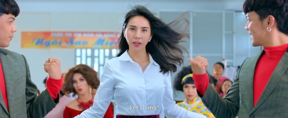 Cười ngất với vai diễn điệu chảy nước của Thủy Tiên trong phim đóng cùng Ngọc Trinh-1