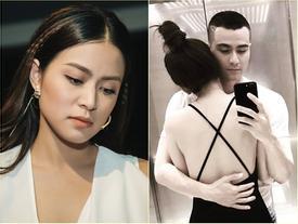 Cho dù có tình mới, Vĩnh Thụy vẫn một mực bảo vệ Hoàng Thùy Linh khi cô bị bới lại scandal sex 12 năm trước