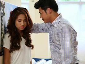 Phản ứng trái ngược của vợ sao Việt khi chồng phải đóng 'cảnh nóng'