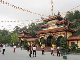 Toàn cảnh chùa Ba Vàng nhìn từ flycam